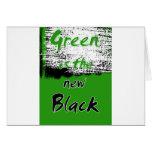 El verde es el nuevo negro felicitaciones
