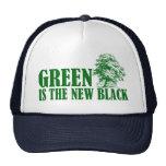 El verde es el nuevo negro gorra