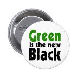 El verde es el nuevo negro pins