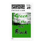El verde es el nuevo negro sello