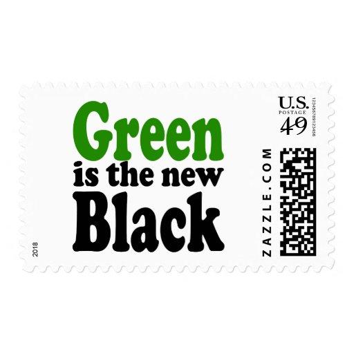 El verde es el nuevo negro sellos