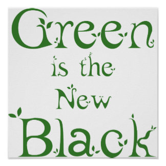 El verde es el nuevo poster negro