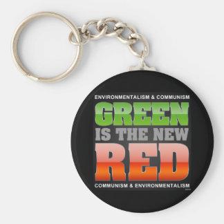 El verde es el nuevo rojo llavero