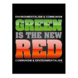El verde es el nuevo rojo postales
