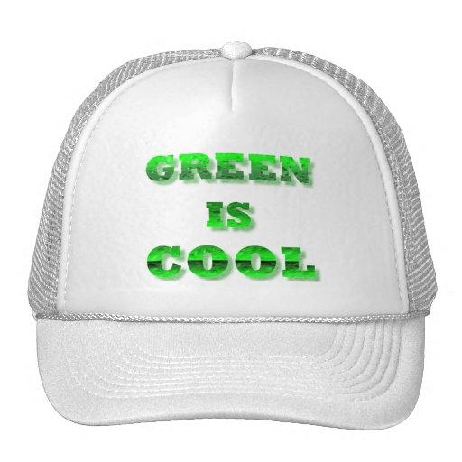El verde es fresco gorra