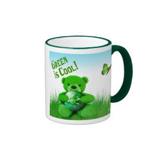 ¡El verde es fresco! Taza