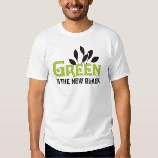 El verde es la nueva camiseta negra/camiseta del remera