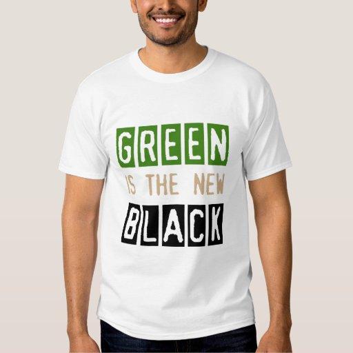 El verde es la nueva camiseta negra playeras