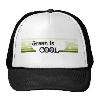 El verde es, REFRESCA - el gorra