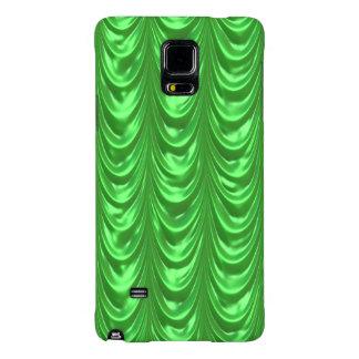 El verde esmeralda acanaló conchas de peregrino de