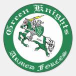 El verde Knights al pegatina del club del MMC