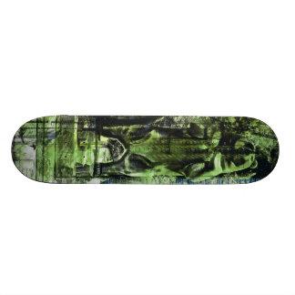 El verde/los azules de los soportes de los osos patinetas personalizadas