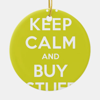El verde mantiene tranquilo y compra materia adorno navideño redondo de cerámica