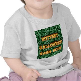 El verde más caliente del golpe 2009 de Halloween Camisetas