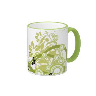 El verde prosperó la taza de las flores - 1