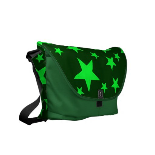 El verde protagoniza la bolsa de mensajero del car bolsa messenger