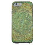 El verde puntea el caso del iPhone 6