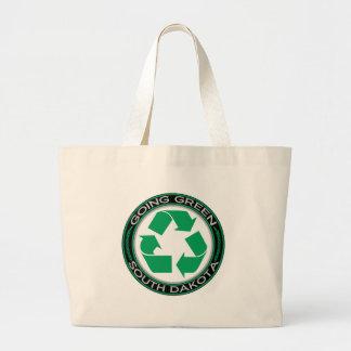 El verde que va recicla Dakota del Sur Bolsa