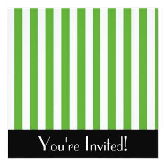 El verde raya la invitación