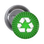 El verde recicla el botón 001 pins