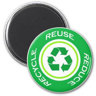 El verde recicla - el imán