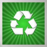 El verde recicla el poster 001