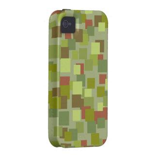 El verde retro ajusta la casamata del iPhone 4 iPhone 4/4S Carcasa