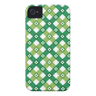 El verde retro del verano comprueba la casamata iPhone 4 carcasa