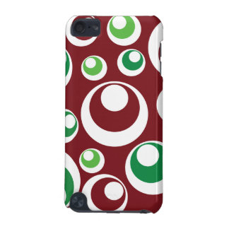 El verde rojo del navidad festivo circunda el mode