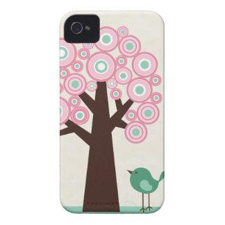 El verde rosado de moda circunda el caso del Case-Mate iPhone 4 cárcasas