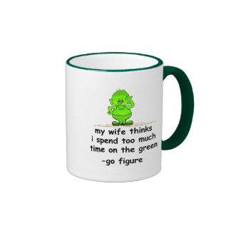 El verde tazas