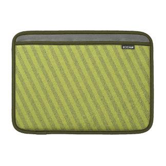 El verde texturizó la caja del aire de Macbook de  Fundas Para Macbook Air