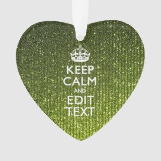 El verde verde oliva guarda calma para tener su