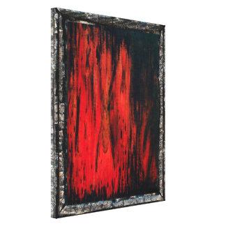 El verdugo lienzo envuelto para galerias