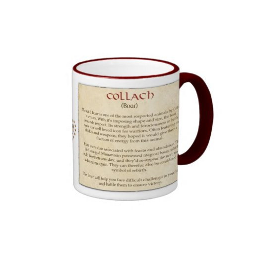 El verraco céltico taza