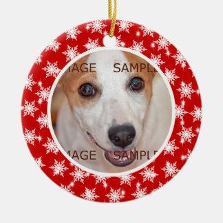 El verso conmemorativo de la foto del mascota PERS Adornos