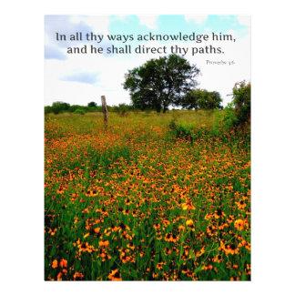El VERSO de la BIBLIA de todas thy maneras lo reco Membrete Personalizado