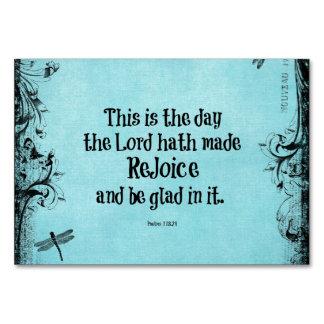 El verso de la biblia esto es el día que el hath
