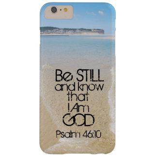El verso de la biblia todavía esté y sabe que soy funda barely there iPhone 6 plus