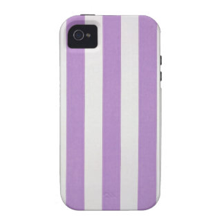 El verticle púrpura raya el papel pintado, 1900-19 iPhone 4 fundas
