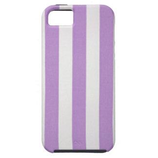 El verticle púrpura raya el papel pintado, iPhone 5 Case-Mate carcasas