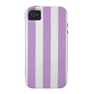 El verticle púrpura raya el papel pintado, funda iPhone 4