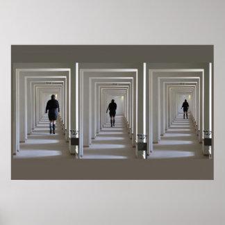 El vestíbulo de Helaine Póster