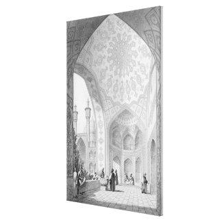 El vestíbulo de la entrada principal del Medrese- Impresión De Lienzo