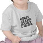El vestido con clase, baila caseoso camiseta