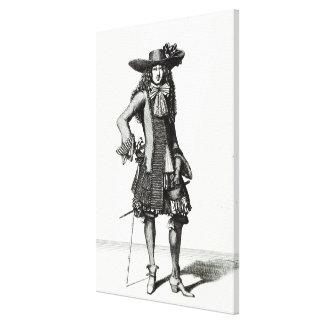 El vestido de la espada del verano, 1675 impresiones en lona estiradas