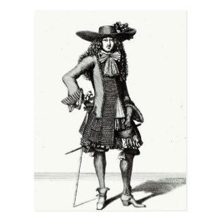 El vestido de la espada del verano, 1675 tarjetas postales