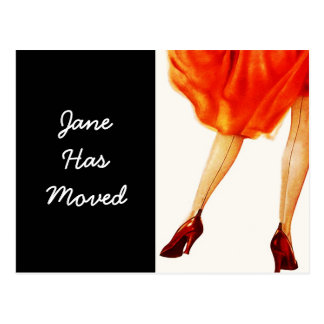 El vestido rojo retro de Marilyn de la postal movi