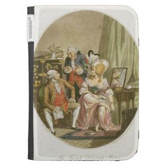 El vestuario francés, grabado por P.W. Tomkins