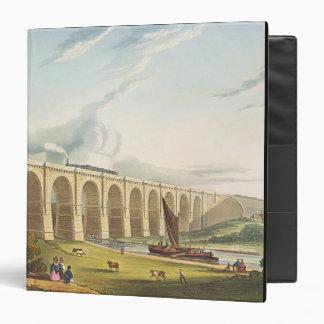El viaducto a través del valle de Sankey, platea 4